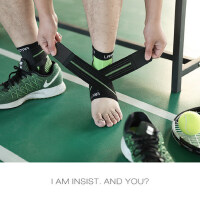 户外跑步装备扭伤防护具 女运动篮球护踝 男士保暖护脚腕护脚踝护具