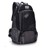 户外双肩包男士旅行包大容量登山包40l双肩男女旅游包运动背包