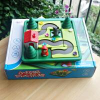 小乖蛋 小红帽与大灰狼 3-6岁儿童逻辑思维训练益智桌面游戏玩具