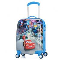 儿童拉杆箱书包男童行李箱18寸可爱小孩拖箱男女小学生旅行箱汽车