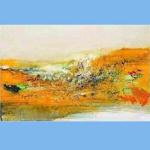 华裔法国油画家,西方抒情抽象派的代表,法兰西画廊终身画家,法国美术学院教授,曾获法国骑士勋章赵无极(光)4