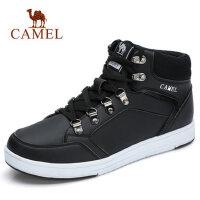 【满299减100 到手价:179】camel骆驼男鞋 秋季新款英伦马丁靴复古时尚工装靴休闲靴