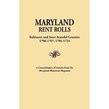 【预订】Maryland Rent Rolls: Baltimore and Anne Arundel Counties, 1700-1707, 1705-1724.... 美国库房发货,通常付款后3-5周到货!