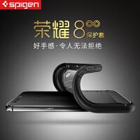 SPIGEN华为荣耀8手机壳透明软硅胶手机套保护套防摔外壳碳纤维款
