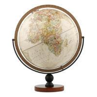 博目地球仪:30cm中英文政区复古立体地球仪(万向底座) 9787503038006 北京博目地图制品有限公司 测绘出