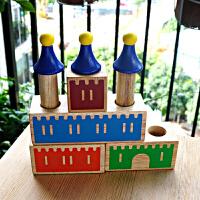 小乖蛋梦想城堡 儿童益智积木3-4-6周岁拼插男孩男童女童小孩玩具