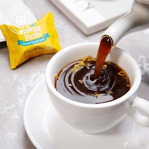 Honeymate护小妹 红糖花茶姜茶黑糖块月经大姨妈玫瑰姜糖水生姜汁混合+桂花 微甜口感