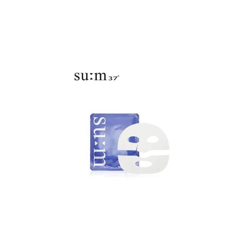 韩国呼吸SU:M37°苏秘发酵水分凝胶面膜 1片 夏季护肤 防晒补水保湿 可支持礼品卡