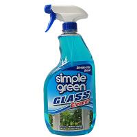 美国Simple Green淋浴房浴室玻璃窗户去水渍清洁剂 家用玻璃水清洗剂946ML