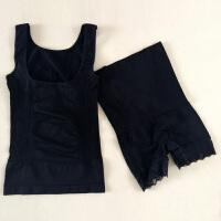 产后塑身衣春夏薄款纯棉衣束身收腹套装美体衣分体塑型衣收腰