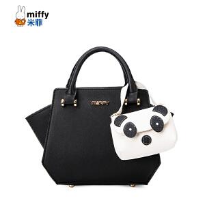 Miffy米菲新款时尚单肩斜挎包 熊猫可爱卡通包包潮