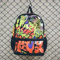 韩版印花涂鸦校园双肩包书包女高中学生个性街头潮流背包男旅行包