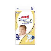 GOO.N大王 环贴式纸尿裤 光羽系列 M44片(6-11kg)婴儿透气柔软非拉拉裤尿不湿