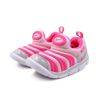 【到手价:239.4元】耐克(Nike)童鞋 毛毛虫儿童鞋 舒适运动休闲鞋CI1188-686 中粉/透明粉/白金色/