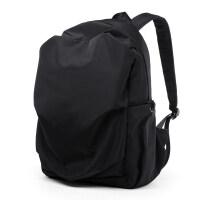 韩版电脑双肩包时尚潮流男士旅行包学生简约书包轻便休闲背包男包