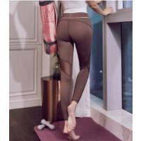 瑜伽裤女弹力紧身速干跑步运动裤网红健身服裤高腰提臀健身裤