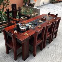 功夫茶几客厅小茶桌老船木茶桌椅阳台茶几实木客厅茶艺桌功夫小茶台泡茶新品特价 整装