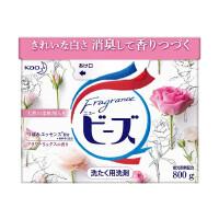 花王(KAO)日本原�b�M口 植物�{香柔�洗衣粉 �o�晒�┑团菀灼�(新玫瑰果香) 盒�b800g(新老包�b�S�C�l)