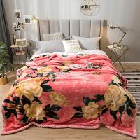君别超厚毛毯被子珊瑚绒毯子冬季双层加厚保暖单人宿舍学生床单绒毯
