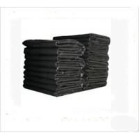 75*90黑色平口垃圾袋大号加厚塑料垃圾袋塑料袋物业袋每包50个