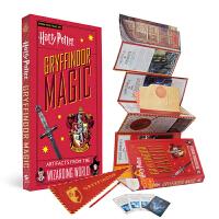 哈利波特 格兰芬多学院 魔法道具收藏折叠书 英文原版 Harry Potter: Gryffindor Magic -
