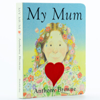 【中商原版】我的妈妈 英文原版 My Mum Anthony Browne My Dad 纸板书