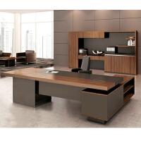 办公家具简约现代老板桌总裁桌大班台经理主管办公桌椅组合