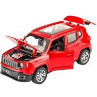 1:32汽车模型SUV合金车模儿童声光玩具车国产越野车GS8玩具车模