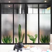 欧植物磨砂玻璃贴膜卫生间浴室窗户窗花纸窗贴纸透光不透明