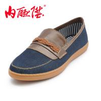 内联升 男布鞋 男士休闲鞋 时尚休闲 老北京布鞋 6772C