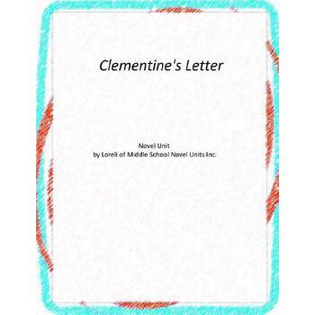 【预订】Clementine's Letter 美国库房发货,通常付款后3-5周到货!