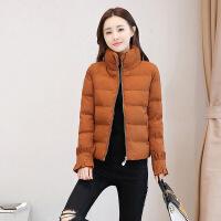 2018新款外套女冬季短款加厚棉袄修身反季羽绒女装面包服棉衣