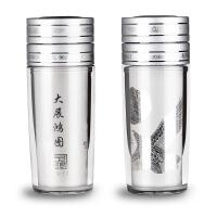 相思树 999纯银杯子 保温银杯35g保健杯水杯 送老公父亲长辈礼物LP003