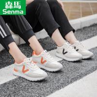 森马女鞋秋季2017新款韩版系带软妹运动休闲鞋百搭板鞋女夜跑步鞋