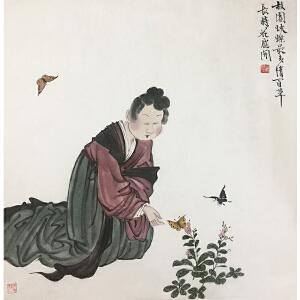 徐乐乐《故园》著名女画家