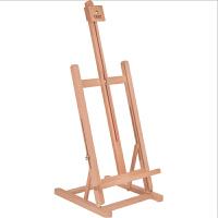 桌面画架 台式木制油画架 素描写生木质画板画架 支架式