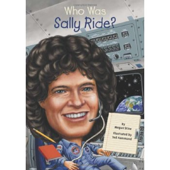 英文原版 Who Was Sally Ride? 萨利·莱德是谁? ISBN:9780448466873
