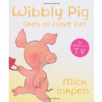 小猪威比:威比很开心(卡板书) 英文原版WIBBLY PIG LIKES TO HAVE FUN ISBN:97803