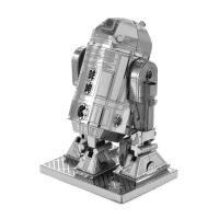 爱拼 全金属 DIY拼装模型 3D立体拼图 星球大战 R2D2 机器人