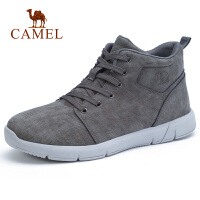camel骆驼男鞋2018秋季新款时尚休闲工作靴真皮年轻潮流马丁靴皮靴子男