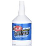 美国原装进口红线Redline机油汽车全合成机油10W-40多脂类五类润滑油 (946毫升/瓶)