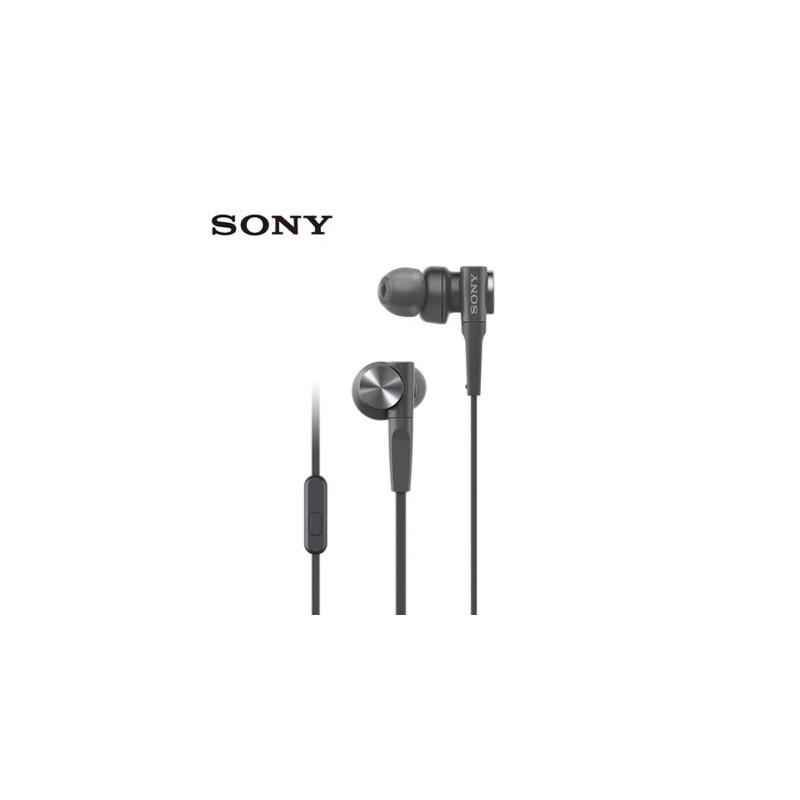 Sony/索尼 MDR-XB55AP深邃重低音入耳式手机通话耳机耳麦-学生 深邃低音 线控通话