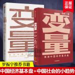 何帆作品 变量共2册 2020年新书推演中国经济基本盘 发现中国社会小趋势 罗辑思维推 荐 中国社会 中信出版社图书
