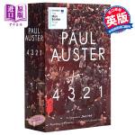 【中商原版】保罗・奥斯特:4321 英文原版 4 3 2 1 Paul Auster Faber & Faber 小说