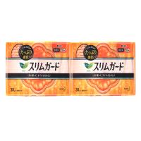 花王(KAO)S系列柔软日用夜用卫生巾 日本原装进口 S38*17cm*2包(新老包装随机发)
