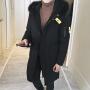 冬季新款男士中长款棉衣男潮韩版青年带毛领棉服冬天棉袄外套DJ-DS204