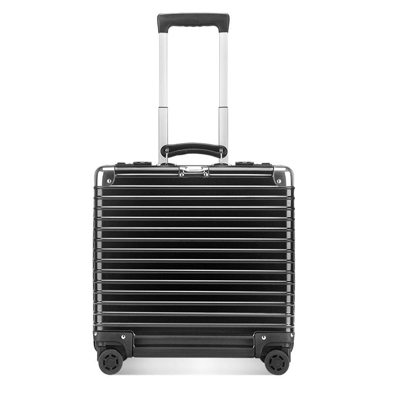 【商务硬箱】osdy全金属商务行李箱小巧登机箱LM1702-17寸小巧登机箱,全铝镁合金够硬够潮!