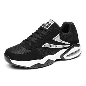 新款运动休闲鞋韩版潮增高板鞋厚底气垫男鞋子学生情侣跑步鞋