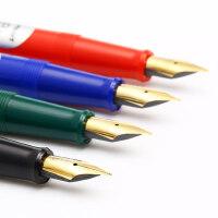 日本PILOT百乐78g+透明钢笔男女孩书法练字成人学生用礼盒装商务