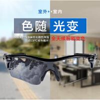 【配5副片】骑行眼镜变色男女自行车近视运动眼镜偏光